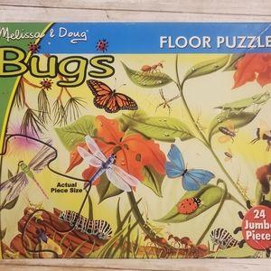 Melissa and Doug Bugs Floor Puzzle